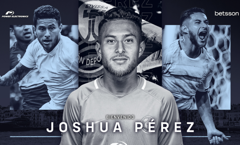 Photo of Joshua Pérez, nou fitxatge de la UD Ibiza