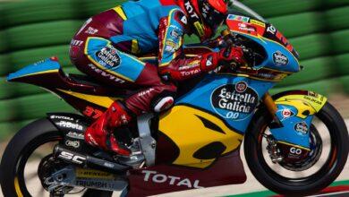 Photo of Augusto Fernández aconsegueix el tercer millor temps a Moto2 el primer dia