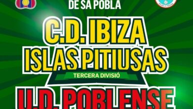 Photo of La UD Poblense i el CD Ibiza Islas Pitiusas es disputaran el Trofeu Ibizkus