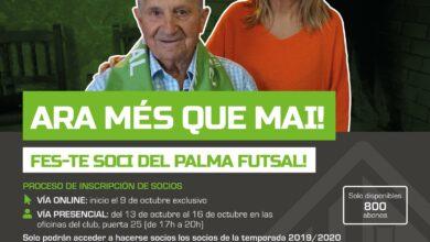 Campanya de socis del Palma Futsal // Palma Futsal
