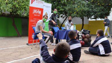 Photo of Palma Futsal i Urbia Voley Palma donen inici al programa de visites escolars