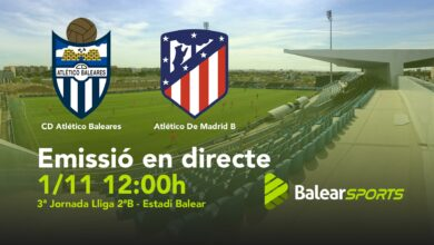 Photo of Atlètic Balears – Atlético de Madrid B