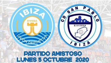 Photo of L'UD Ibiza-Gasifred i el CD San Pablo s'enfrontaran avui horabaixa en un partit amistós