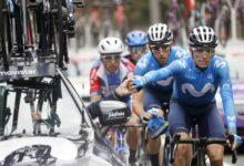 Photo of Enric Mas 6è després de la primera etapa de La Vuelta ciclista a España