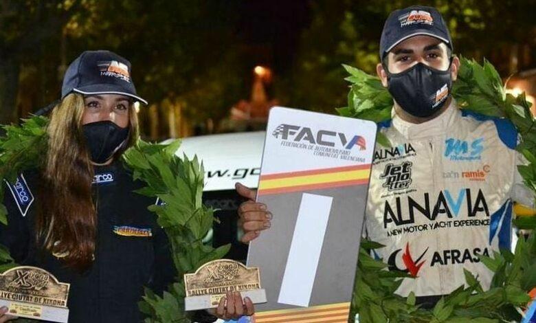 Miquel Socias i Laura Salvo van guanyar el Rally de Xixona fa unes setmanes