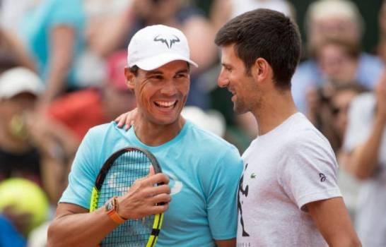 Rafa Nadal i Novak Djokovic // EFE