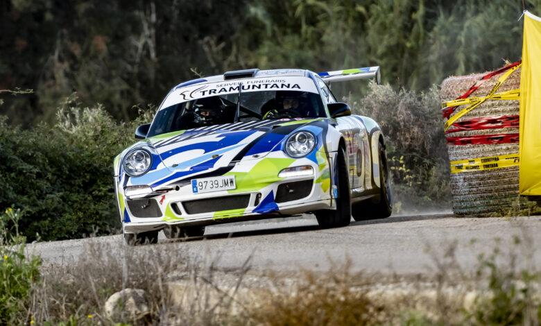 Foto: Carlos Moyà Porche 911 GT3 David Garcia - Guillermo Cuart