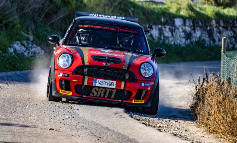 Foto: Carlos Moyà Mini Rallye R56 Alberto Frau - Tomeu Mas