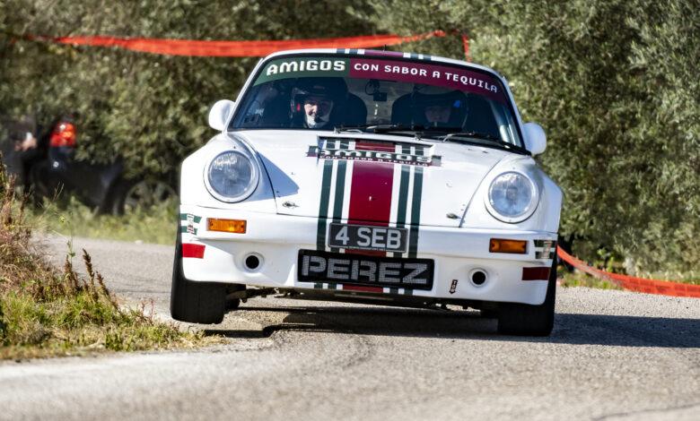 Foto: Carlos Moyà Porche 911 RS Seb Perez - Steve Perez