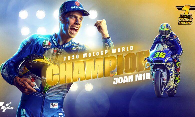 Joan Mir, campió del món // MotoGP